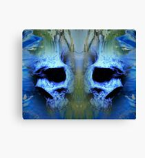 Etheral Skulls Canvas Print