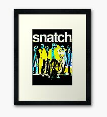 Inverted Snatch Poster Framed Print