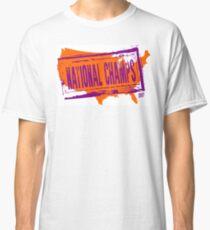 CLEMSON TIGERS NATIONAL CHAMPIONS Classic T-Shirt