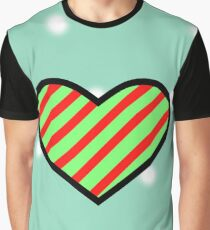 Christmas Ribbon Graphic T-Shirt
