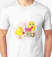 Chickens are preparing a magic elixir.  T-Shirt