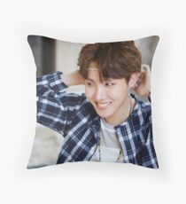 J-hope Throw Pillow
