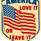 Amerika Liebe es oder lass es von hackeycard