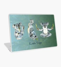 Australan Koala Yoga Positions 1 Laptop Skin