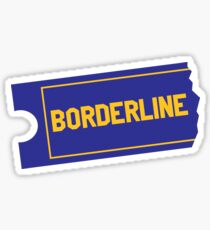 Borderline Video Sticker