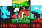 The West Coast Trail British Columbia Vintage Travel Decal by hilda74