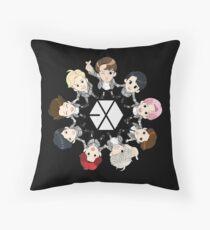 EXO OT 9 Throw Pillow