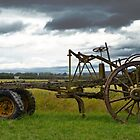 Horse Drawn Grader by Deborah Clearwater