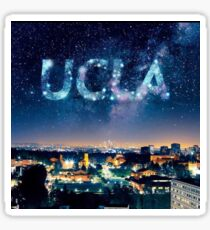 UCLA edit westwood Sticker