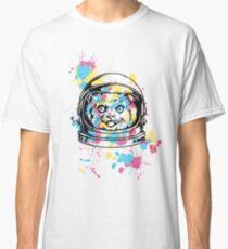 cute kitty kitten cat astronaut  Classic T-Shirt