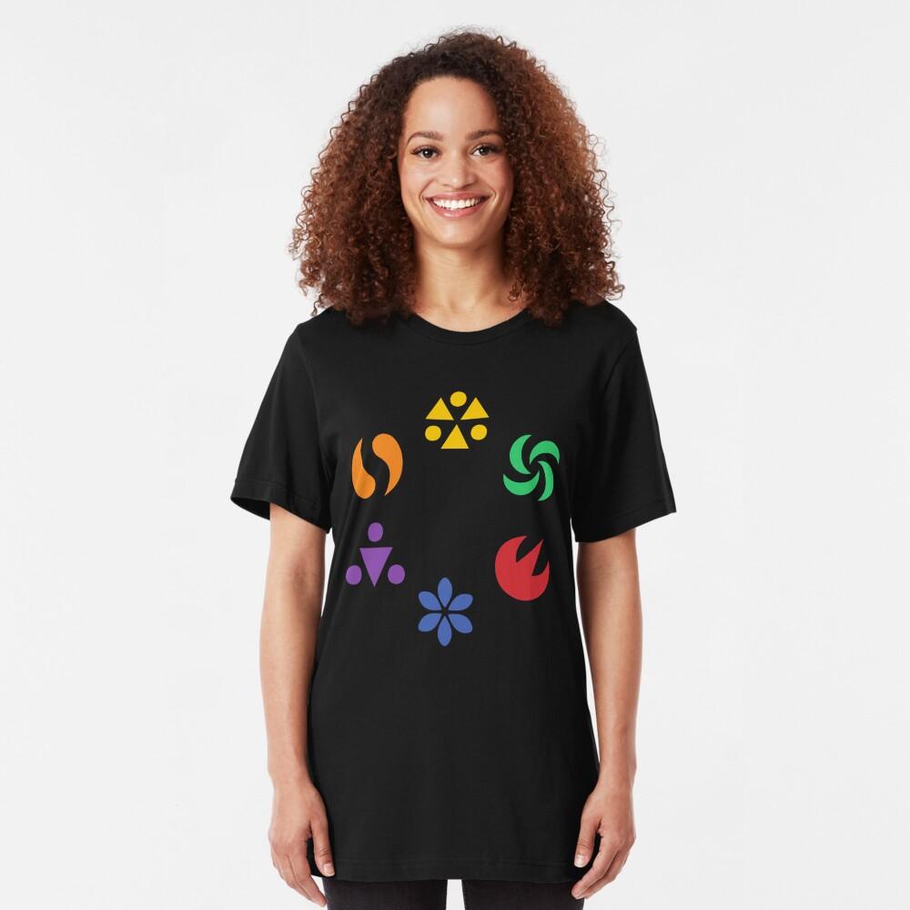 Sage Medallions - OoT Slim Fit T-Shirt