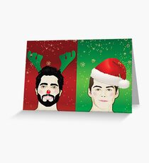 Have A Sterek Christmas Greeting Card