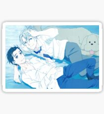 Yuri on ice  Sticker