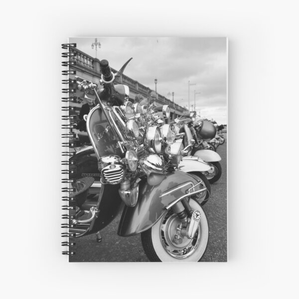 We are the mods! Spiral Notebook