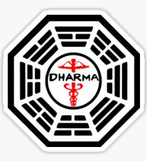 The Dharma Initiative - The Staff Station Sticker
