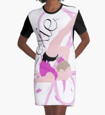 Lexie - Personalised Print  Graphic T-Shirt Dress