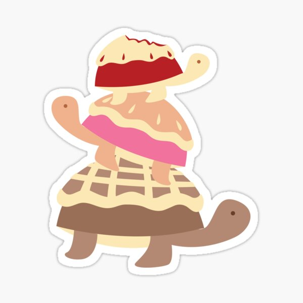 Turtle Pies Family Sticker