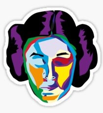 princess leia Sticker