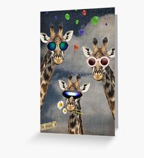 Animal Collection -- Lets Take A Selfie Greeting Card