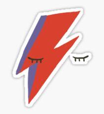 Aladdin Sane Sticker David Bowie Sticker