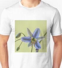 Single Blue Dianella  - Macro  T-Shirt