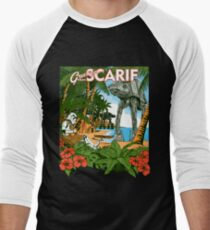 Greetings from Scarif Men's Baseball ¾ T-Shirt