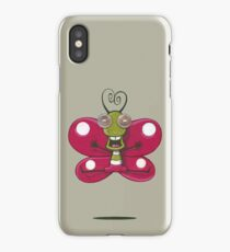Hello butterflies - acrylic painting iPhone Case/Skin