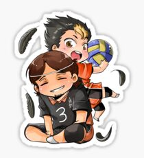 3 + 4 = Karasuno! Sticker