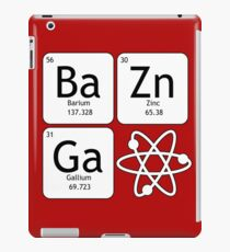 BaZinGa and Atom iPad Case/Skin