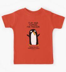 Brenda the Civil Disobedience Penguin Kids Clothes