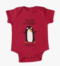 Brenda the Civil Disobedience Penguin One Piece - Short Sleeve