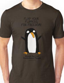 Brenda the Civil Disobedience Penguin Unisex T-Shirt
