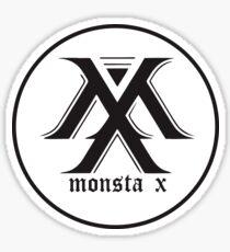 monstax black Sticker