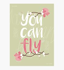 you can fly - jessica, fly Photographic Print