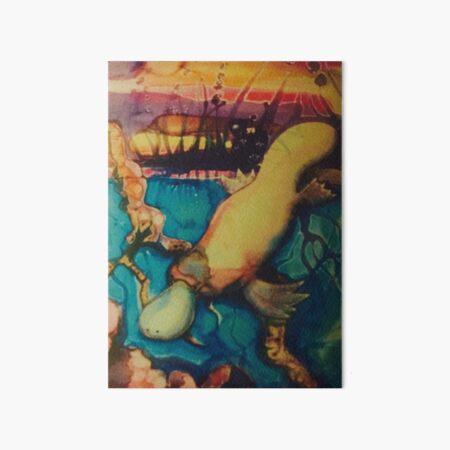 platypus Art Board Print