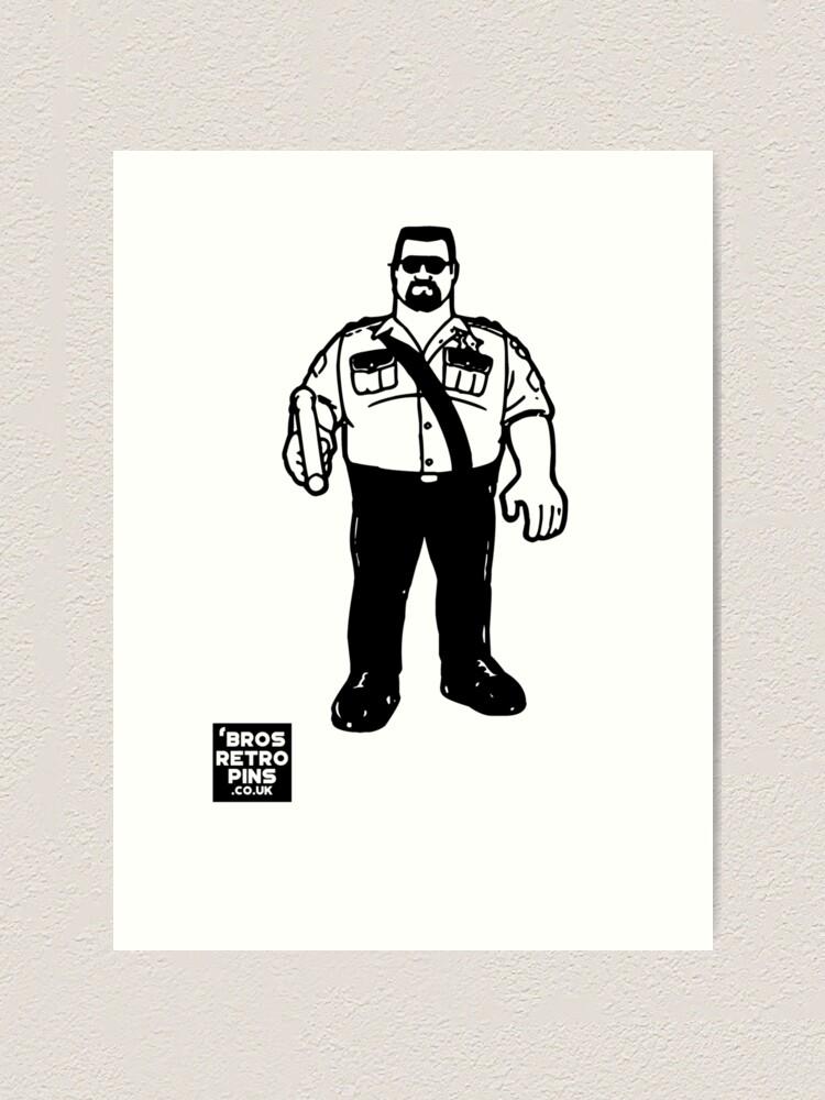 Hasbro Series 1 Big Boss Man Art Print