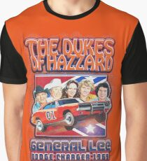 The Dukes Of Hazzard General Lee Dodge Graphic T-Shirt
