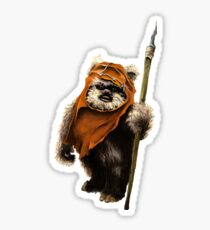 Ewok #1 Sticker