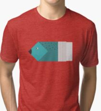 Pencil or fish? Tri-blend T-Shirt