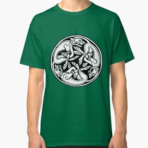Celtic Art - Dog Triskele Classic T-Shirt