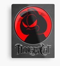 HungryCat. Metal Print
