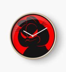 HungryCat. Clock
