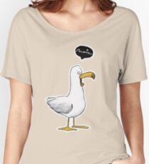 Kleine Möwe - Moin! |Katz & Tinte Women's Relaxed Fit T-Shirt