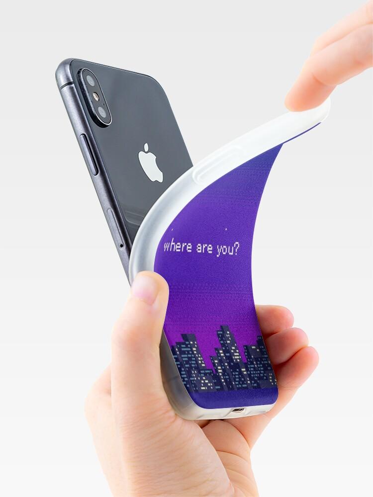 Alternative Ansicht von Wo bist du? iPhone-Hülle & Cover
