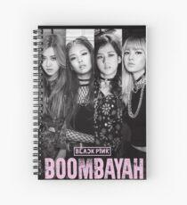 blackpink boombayah Spiral Notebook