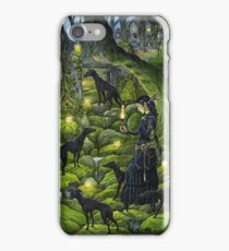 Mariana and the Black Whippets iPhone Case/Skin