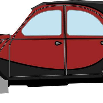 Citroen 2CV 2-tone by burrowheel