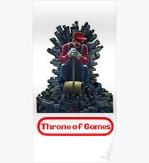 Throne of games Poster