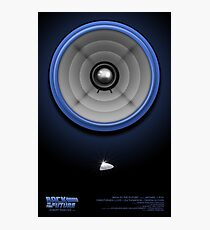 Back to the Future Speaker Photographic Print