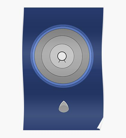 Back to the Future giant Speaker -minimalistic- Poster